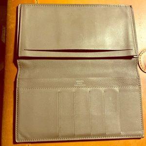 Hermès Citizen Twill Long Wallet
